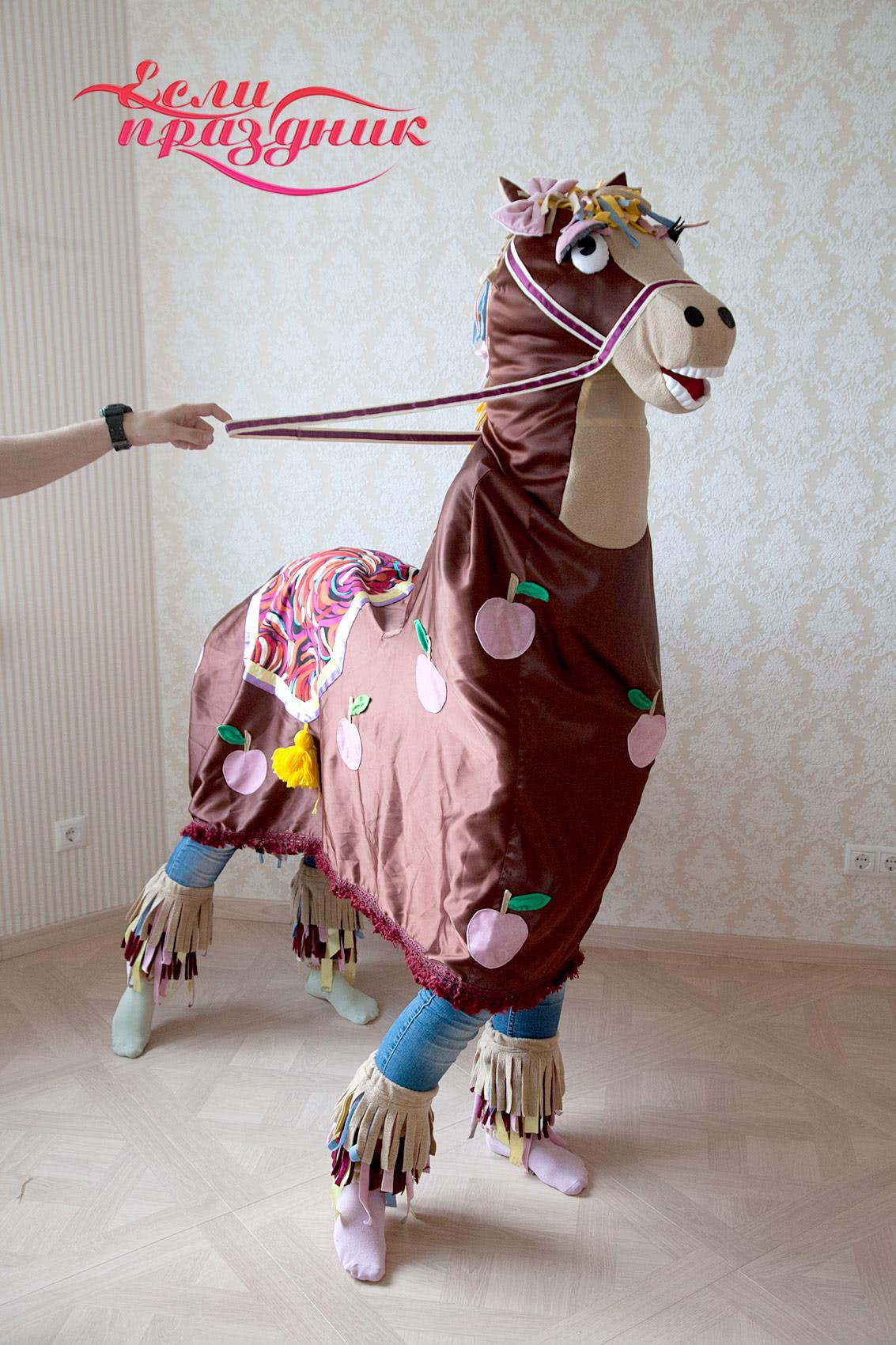 Шапочка лошади своими руками